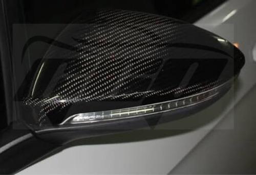 retrovisor carcasa fibra de carbon vw golf mk7 gti turbo gcp