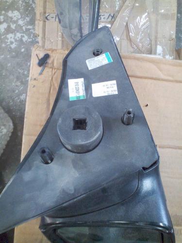 retrovisor chevrolet corsa izquierdo nuevo manual negro