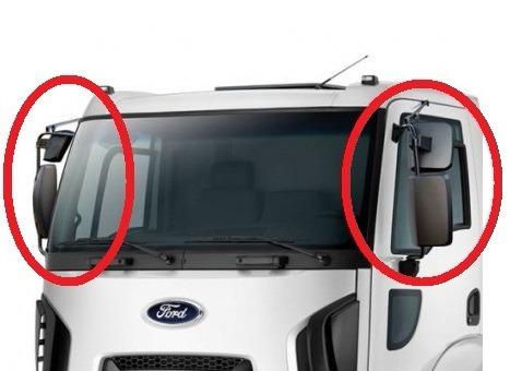 retrovisor completo ford cargo 2013 a 2018 elétrico le