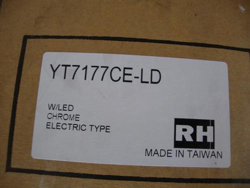 retrovisor der- electri cromado luz cruce dmax yt7177cel-ld