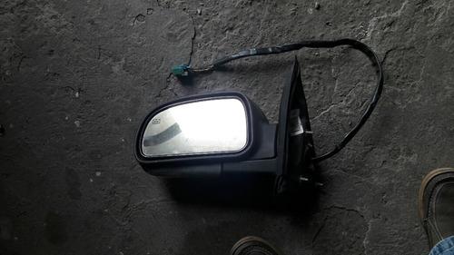 retrovisor  derecho mica blanca trailblazer 2002-2007
