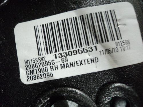 retrovisor derecho silverado c-3500 07/14