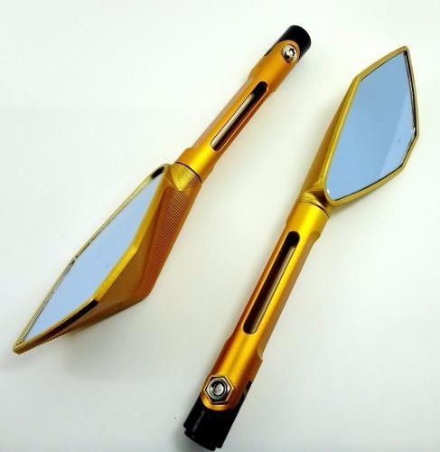retrovisor espelho eportivo tipo rizoma xj6 hornet xre cb300