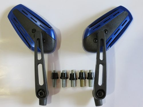 retrovisor esportivo mini br base em alumino cb300 twister