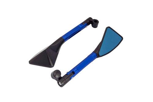 retrovisor esportivo tipo tomok azul honda biz 125 ks 2006