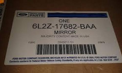 retrovisor ext der/izq para ford expl 2006/ c/luz 6l2z17682b