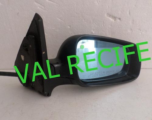 retrovisor golf 2000/2006 lado direito  manual orig metagal