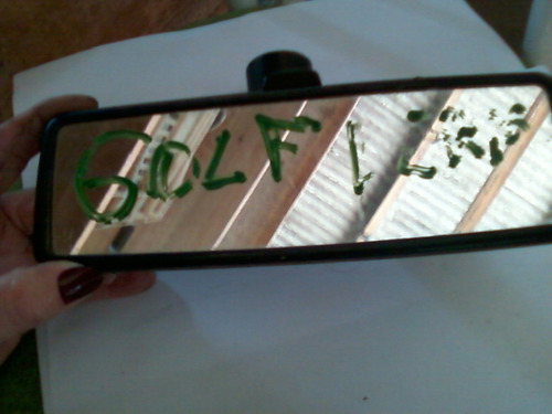 retrovisor interno golf
