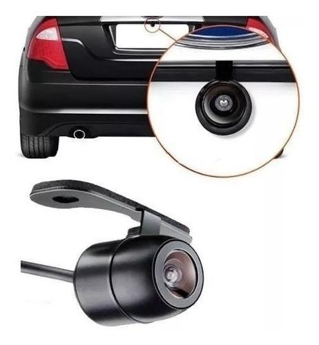 retrovisor lcd 4.3 + camera de ré borboleta + sensor ré