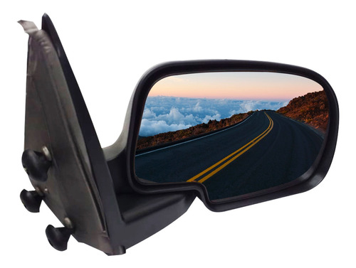 retrovisor manual silverado plegable 1999-2007 spc