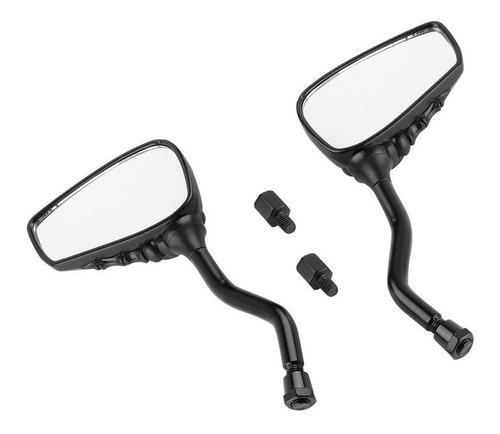 retrovisor  para moto espejos manos calaver universal negro