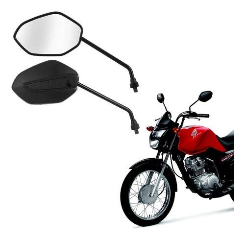 retrovisor para moto honda mini titan 125/150 modelo 2014