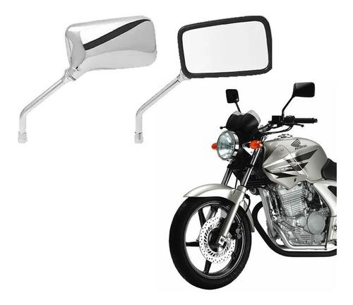retrovisor para moto yamaha  modelo twister cbx 250 cromado