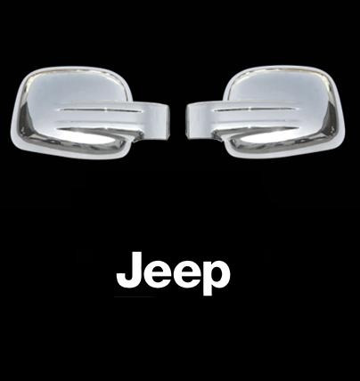 retrovisores cromados jeep liberty 2002- 2007 importados