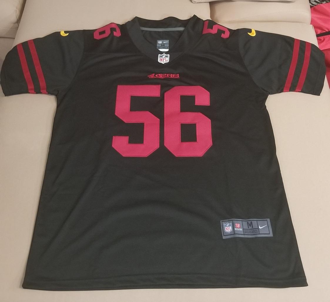 new concept 457b6 78cc5 Reuben Foster #56 San Francisco 49ers Jersey