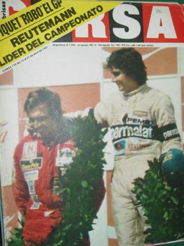 reutemann gran premio republica argentina revista corsa 776