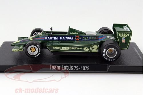 reutemann lotus 79 f1 # 2 1979  altaya 1/43