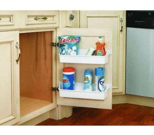rev-a-shelf rev a estante door storage cabinet tray set