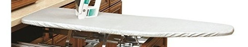 rev-a-shelf vanity cover only tabla de planchar plateada