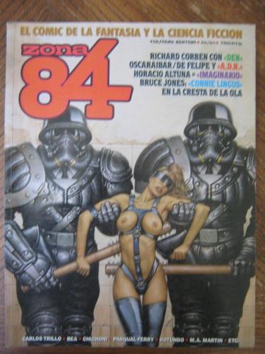 rev zona 84 comic internacional nº62 al 64, altuna, chichoni