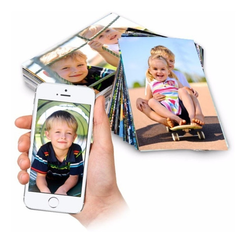 revelação de 100 fotos 10x15, com photoshop via whatsapp