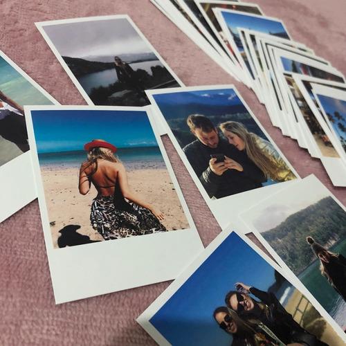 revelação de 20 fotos formato polaroid 7x10