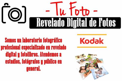 revelado digital fotos kodak 10x15 13x18 y más + polaroid
