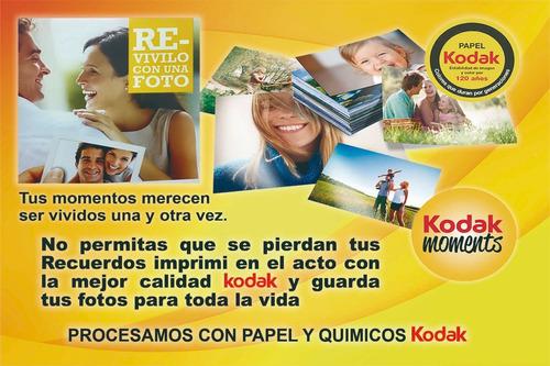 revelado digital imprimir fotos 100 10x15 kodak en el dia