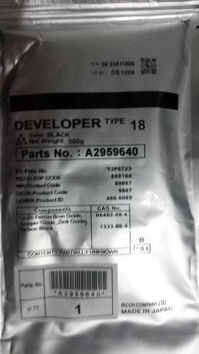revelador ricoh tipo 18 1035/1045 ap4510