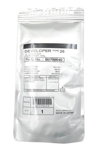 revelador ricoh type 26 ricoh af2035/2045 original. b0799640