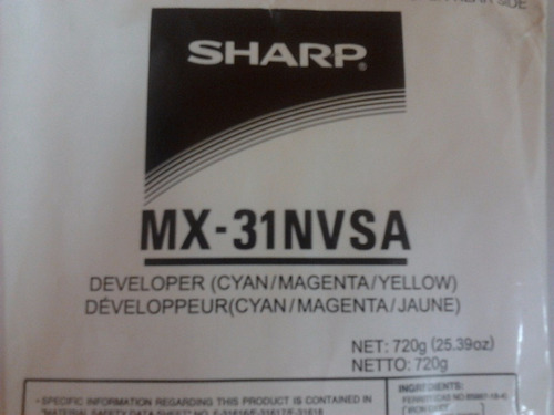 revelador sharp mx-31nvsa