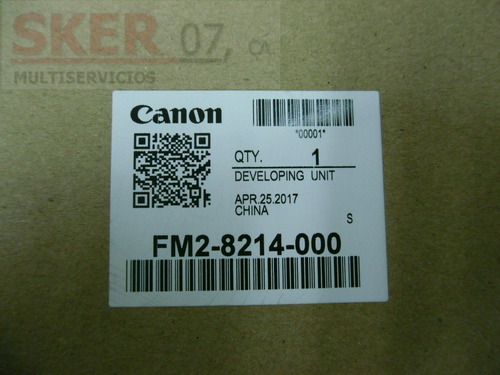 reveladora canon ir 1019 1023 1025 orig sellada fm2-8214 new