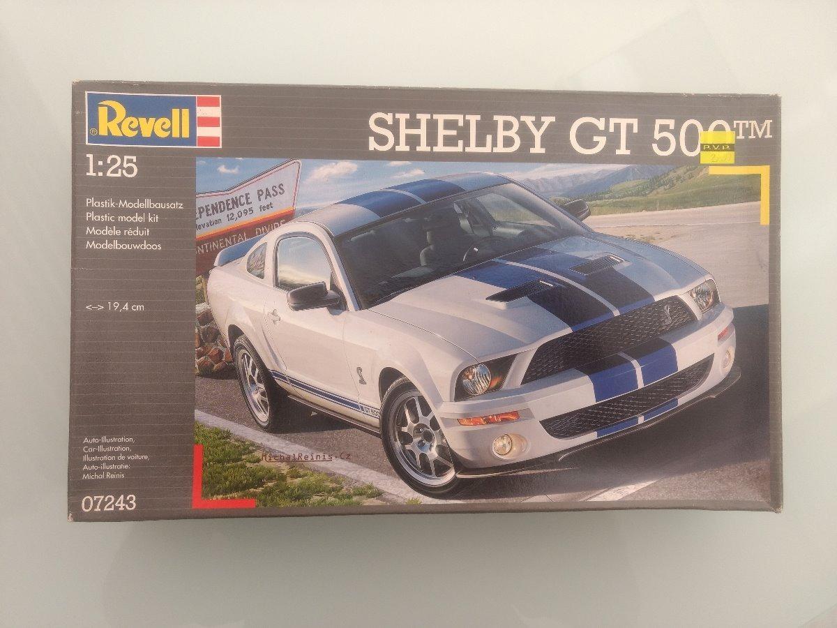 Ford mustang shelby gt 500 modelo de monta carregando zoom