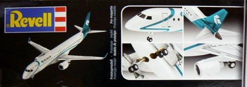 revell 4884 1/144 embraer 195 air dolomiti regional jet