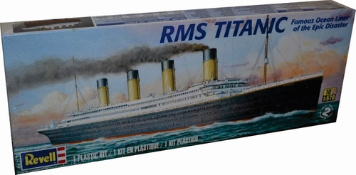revell barco rms titanic 1/570 armar pintar/ testors