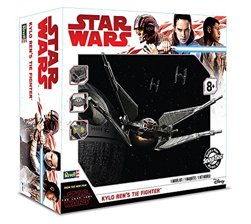 revell snaptite build and play star wars: ¡el último jedi