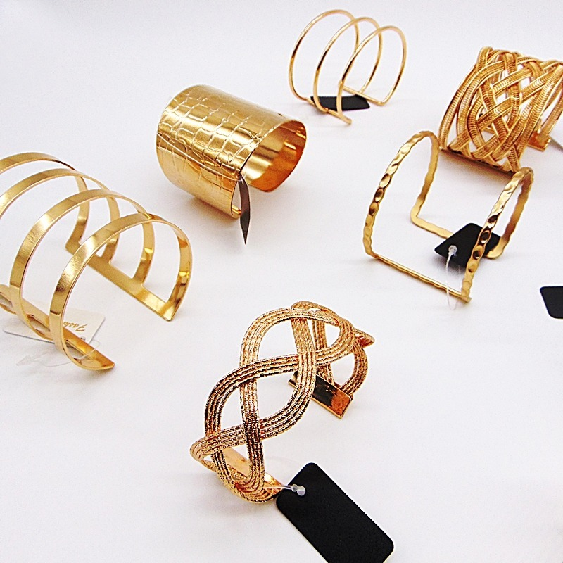 Revenda Kit C15 Bracelete Feminino Metal Atacado Bijoux R 12000