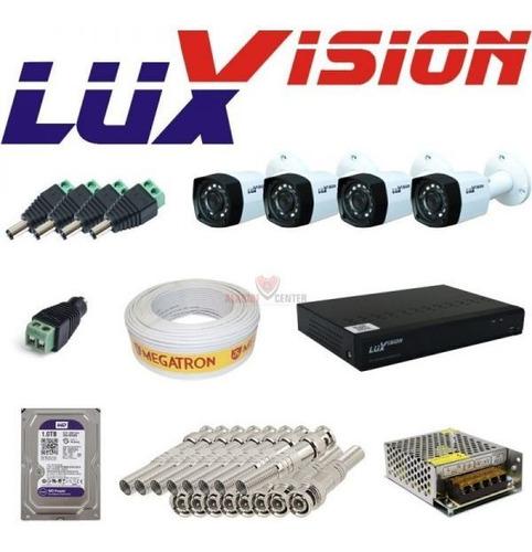 revenda luxvision em curitiba câmeras hvr dvr alarmes