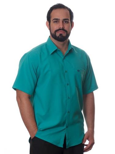 revender camisas socais masculinas manga curta kit 15 peças