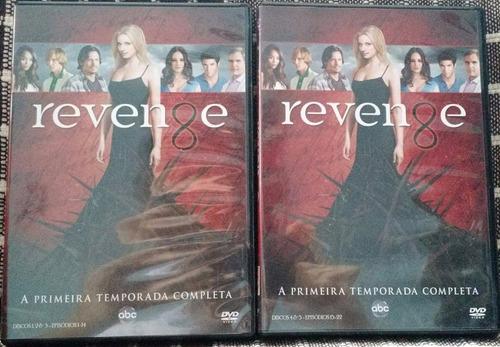 revenge vingança box 1ª temporada completa com 5 dvds novo
