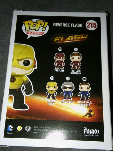 reverse flash funko pop television the flash original