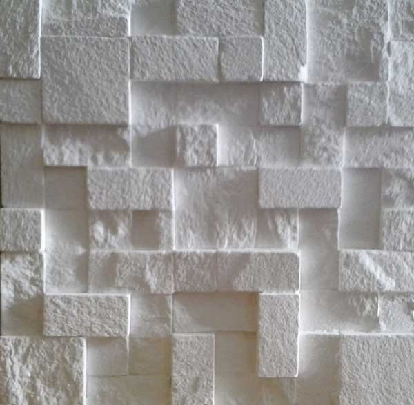 Revestimento 3d ciment cio rea externa varios modelos r for Pisos decorativos 3d