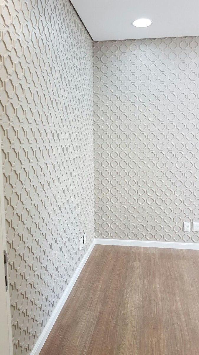 Revestimento 3d em pvc parede ou teto 1mt2 veneza r 35 for Placas pvc para paredes