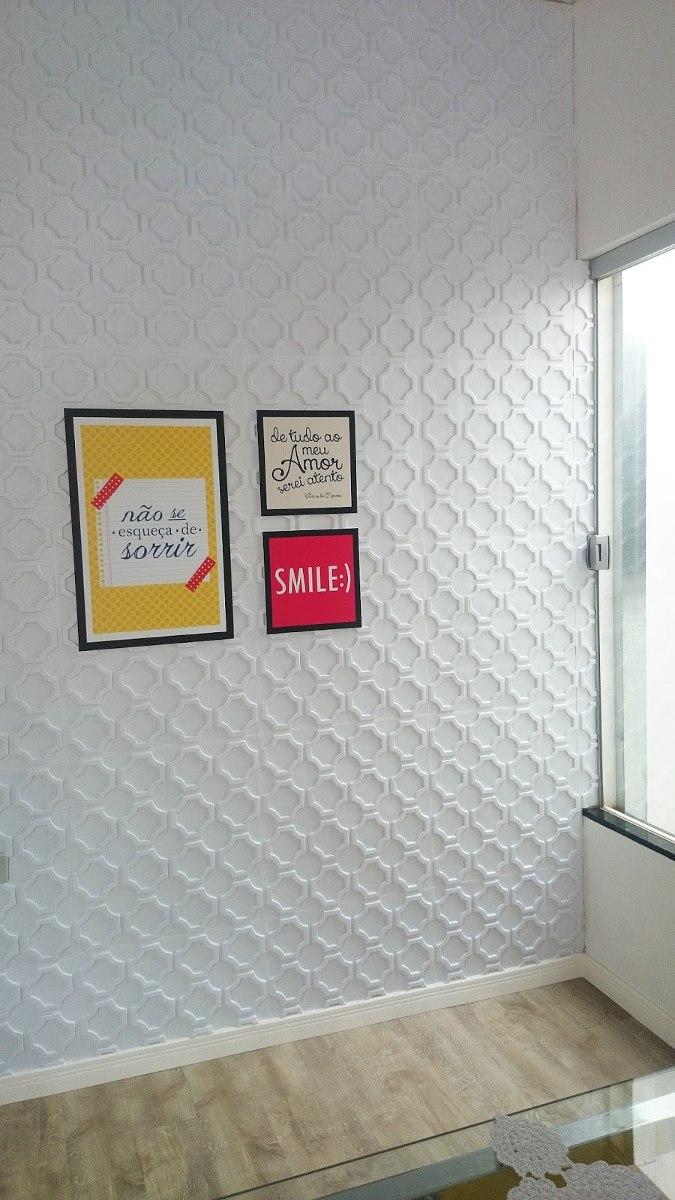 Revestimento 3d em pvc parede ou teto 1mt2 veneza r 45 for Placas de pvc para paredes