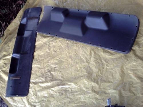 revestimento acabamento tampa traseira kadett 89 a 93 sle, gls, gsi, sl e gl forro capo porta mala original gm