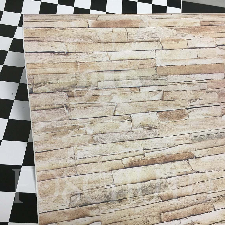 Revestimento adesivo imita pedra canjiquinha aplike 10m x for Kuchenzeile 2 10 m