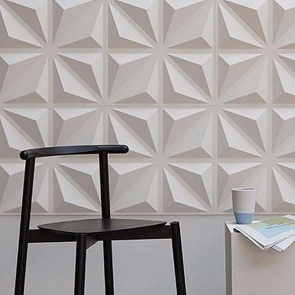Revestimento de parede 3d placas pvc formix bari m for Placas pvc para paredes