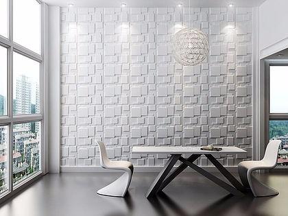 Revestimento de parede 3d placas pvc formix crotone m for Placas de pvc para paredes