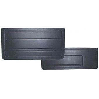 revestimento de porta preto (par) monza