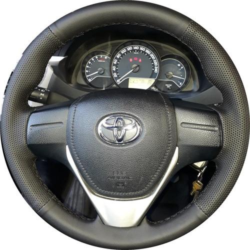 revestimento de volante em couro